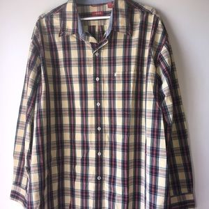Yellow IZOD button up